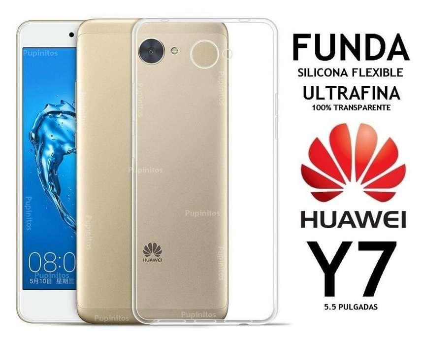 Funda Tpu Cover Huawei Y7 Rosario