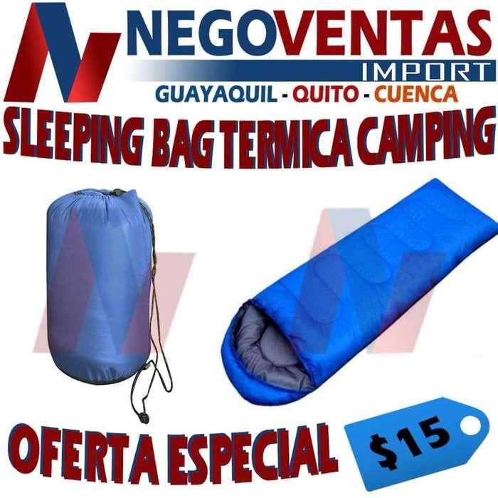 SLEEPING BAG TÉRMICA <strong>camping</strong>