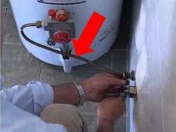 CAÑO de GAS conexión TERMOTANQUE (Rheem y varios)