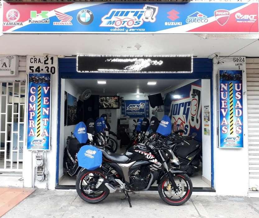 Suzuki Gixxer 150 2017 ¡¡Soat Nuevo!! JORGE MOTOS BUCARAMANGA Financiación, Recibimos Motocicleta Usadas!