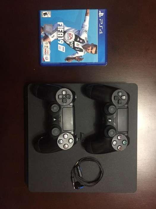 Playstation 4 con 2 Controles
