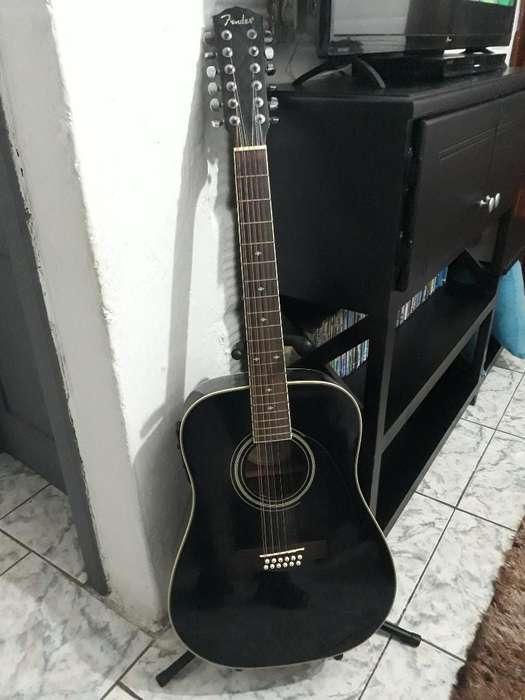 Guitarra Fender 12 Cuerdas Electroacoust