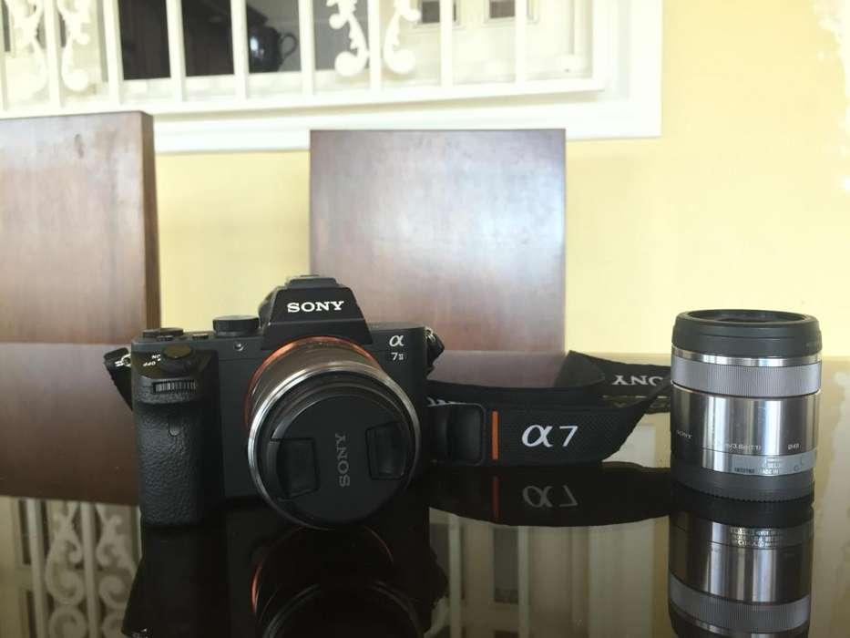 Camara Sony A7ii Full Frame