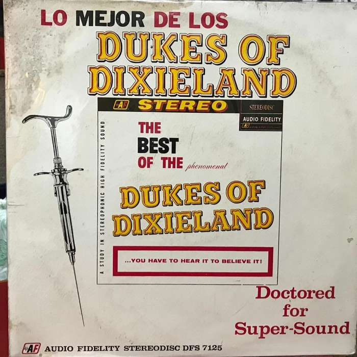 LP recopilatorio de The Dukes of Dixieland año 1961 reedición