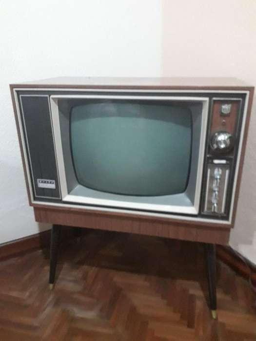 Vendo Tv Sharp Classica Blanco Y Negro