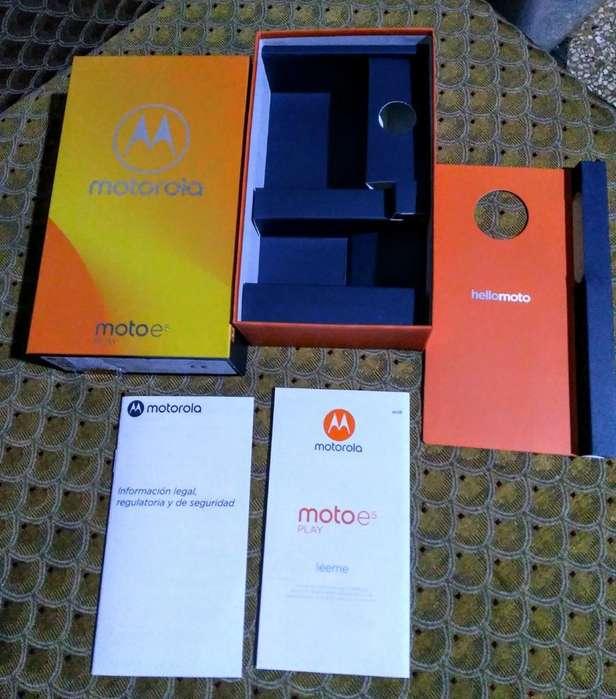 Caja Vacía Moto E5 Play Motorola