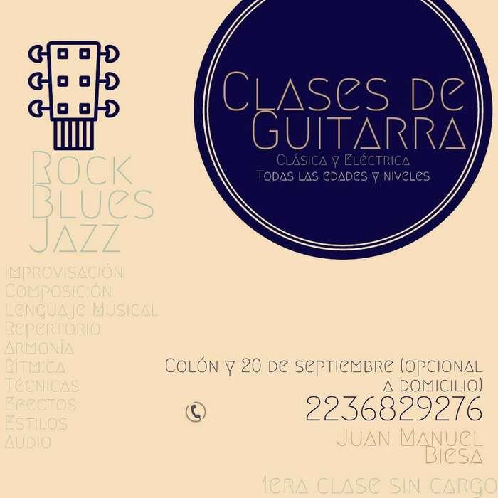 Clases de Guitarra Mar Del Plata