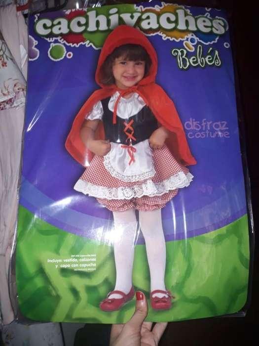 Hermoso Disfraz Caperucita Roja