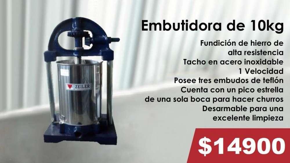EMBUTIDORA DE 10KG