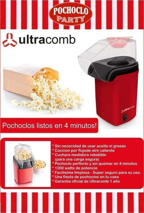 Pochoclera Ultracomb Po-2700 1200w