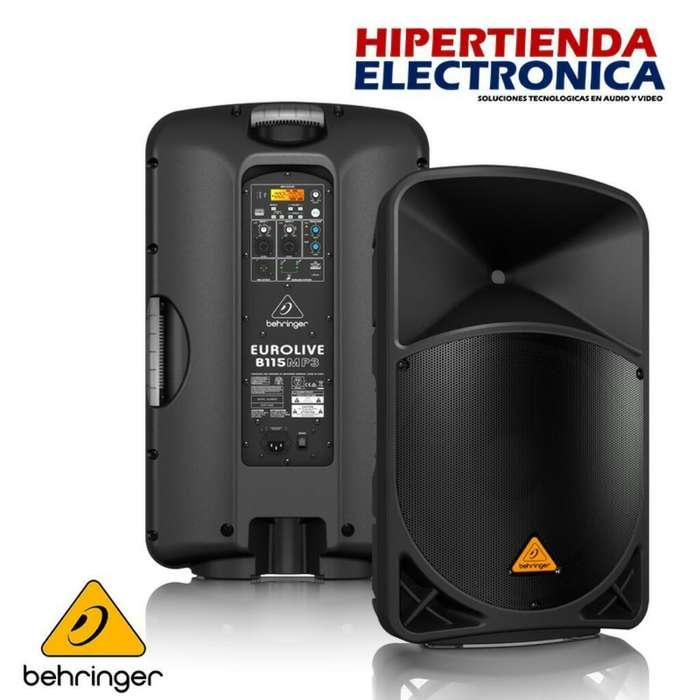 Cabina Amplificada Behringer B112mp3