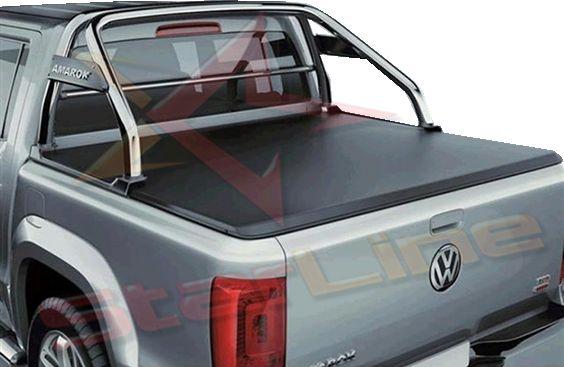 Carpa Plana Volkswagen Amarok Enrollable Para Camioneta Importada