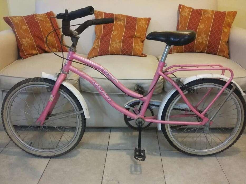 Bicicleta de Barbi, Rodado 20