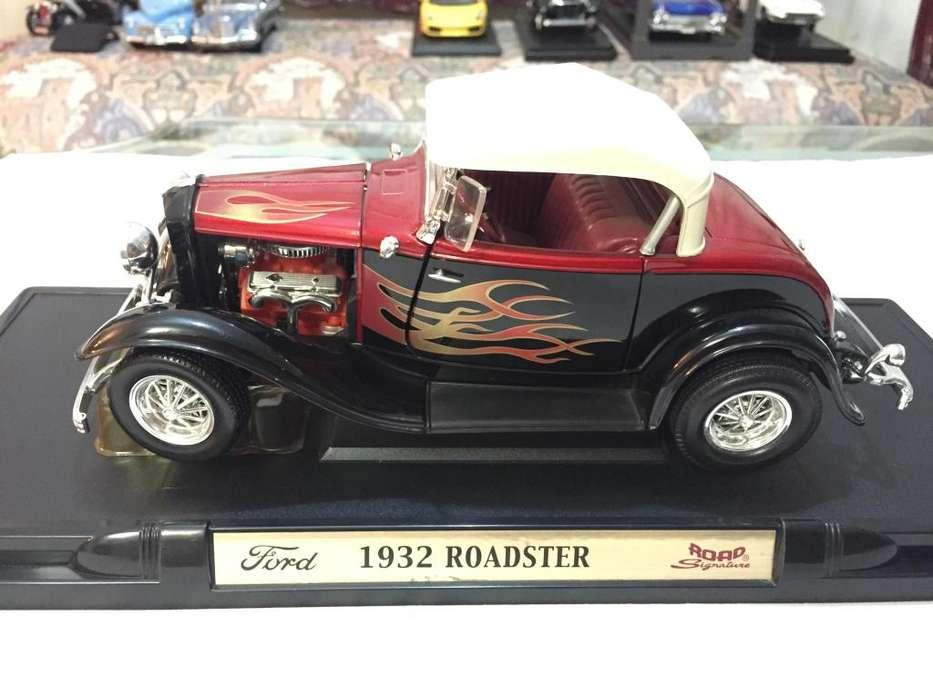 1932 Ford Roadster Street Rodescala 1/18 Yat MingRoad Legends