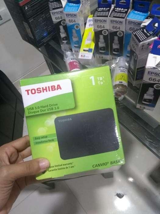Vendo 1 Tera Nueva Marca Toshiba Negocia