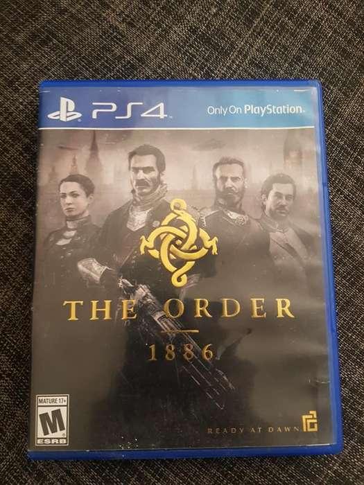 SE VENDE JUEGO PS4 COMO NUEVIO THE ORDER 1886