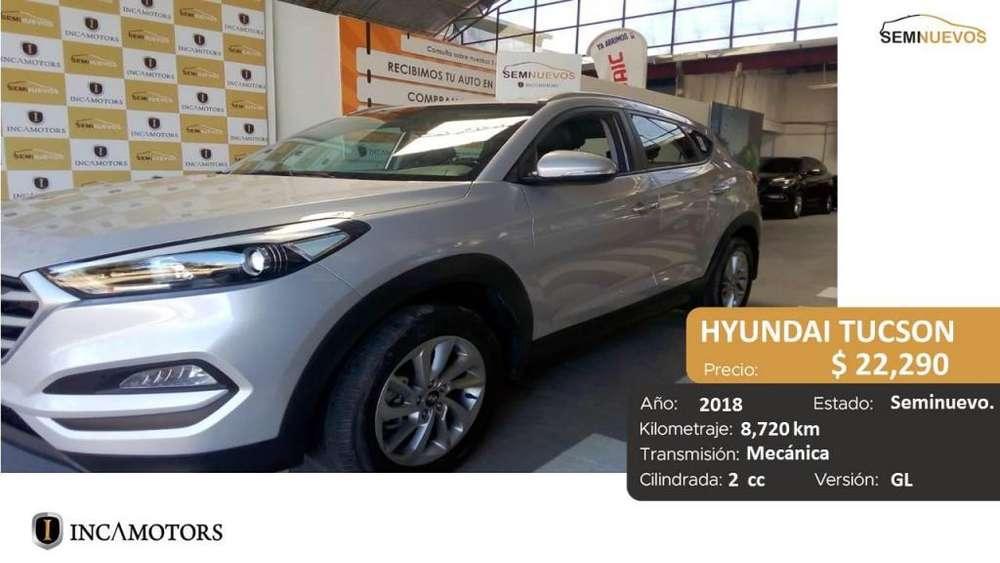 Hyundai Tucson 2018 - 8720 km