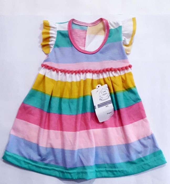 Vestido Algodon Nena T. 1 Al 6