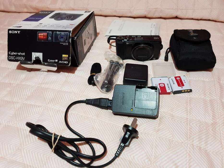 Camara Sony Dsd Hx9v