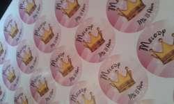 plancha de stickers personalizados