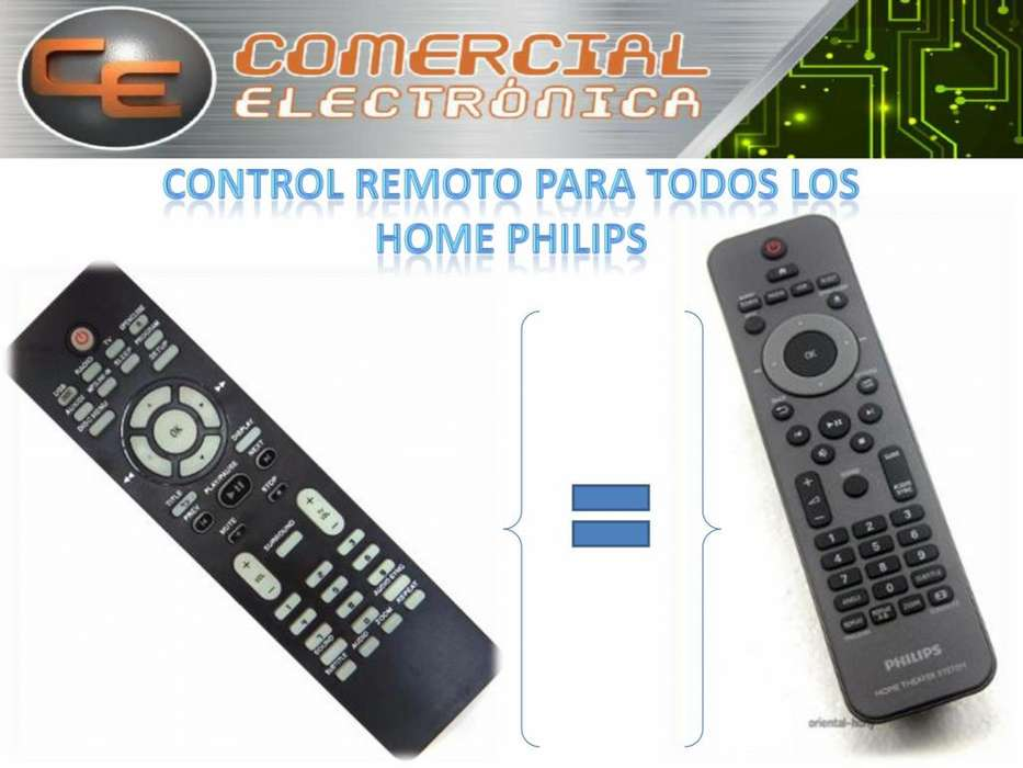 HOME PHILIPS Control Remoto Pata Todos Los Home Theater Philips
