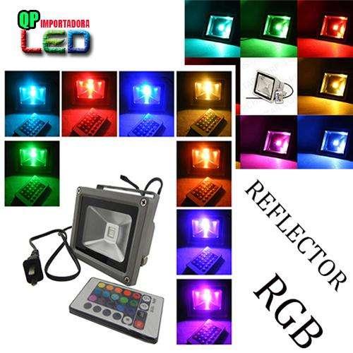 Reflector Led Rgb 10w 20w 30w 50w Multicolor Control