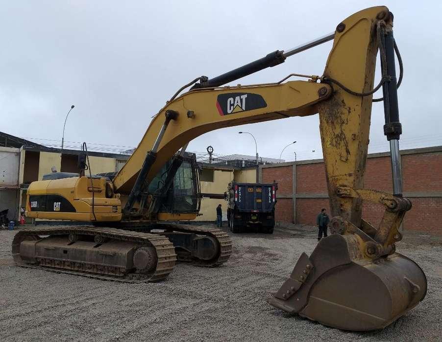 Excavadora Cat 336dl Año 2011, a Crédito