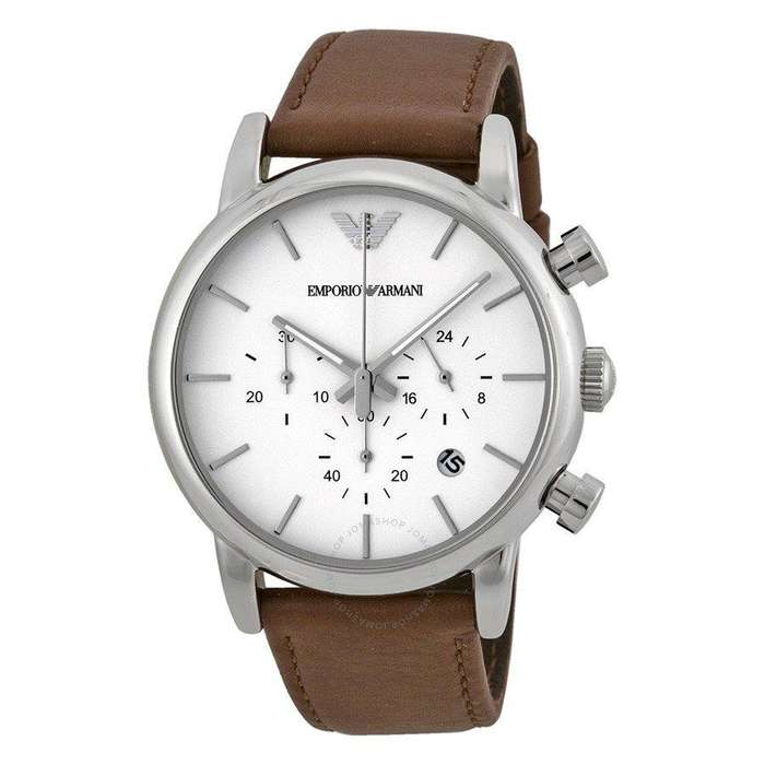 44f46ceb8066 Reloj Emporio Armani AR 1846 - Nuevo - Malla cuero marrón