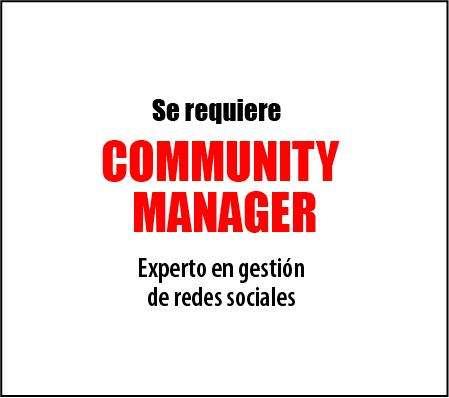 AUXILIAR COMUNITY MANAGER / MARKETING DIGITAL