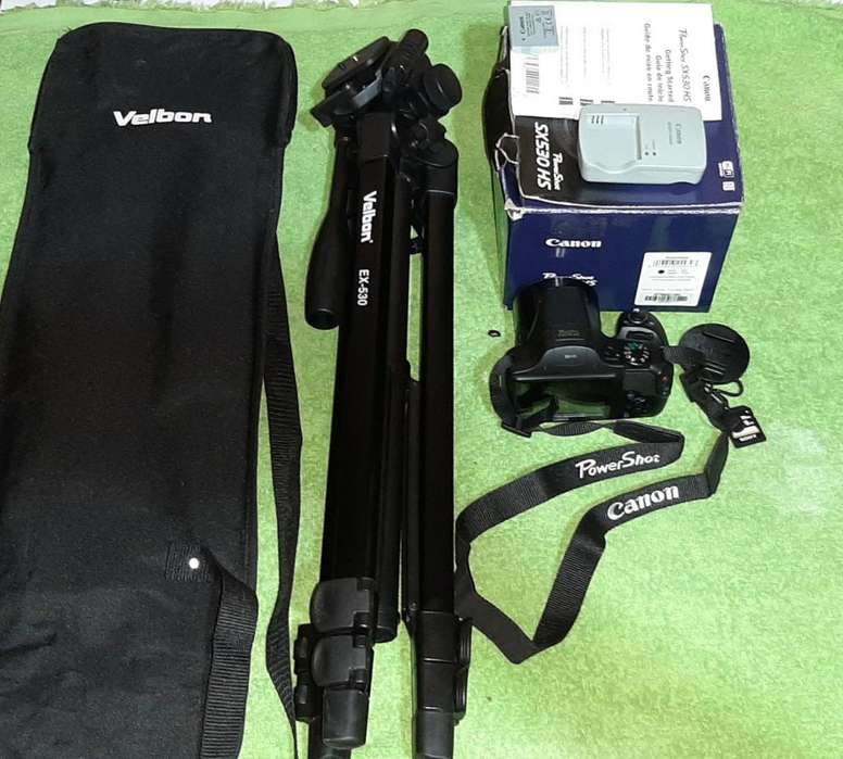 Camara canon PowerShot Sx530 Tripode