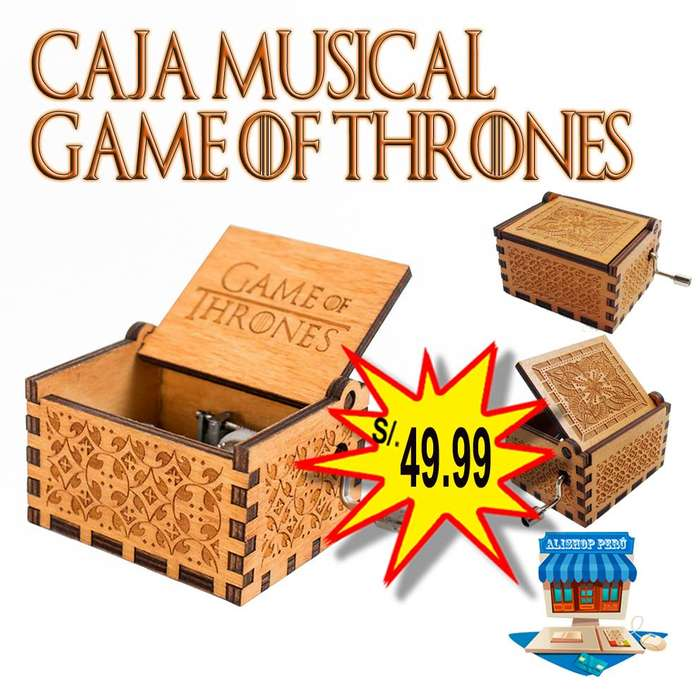 Caja Musical Game of Thrones