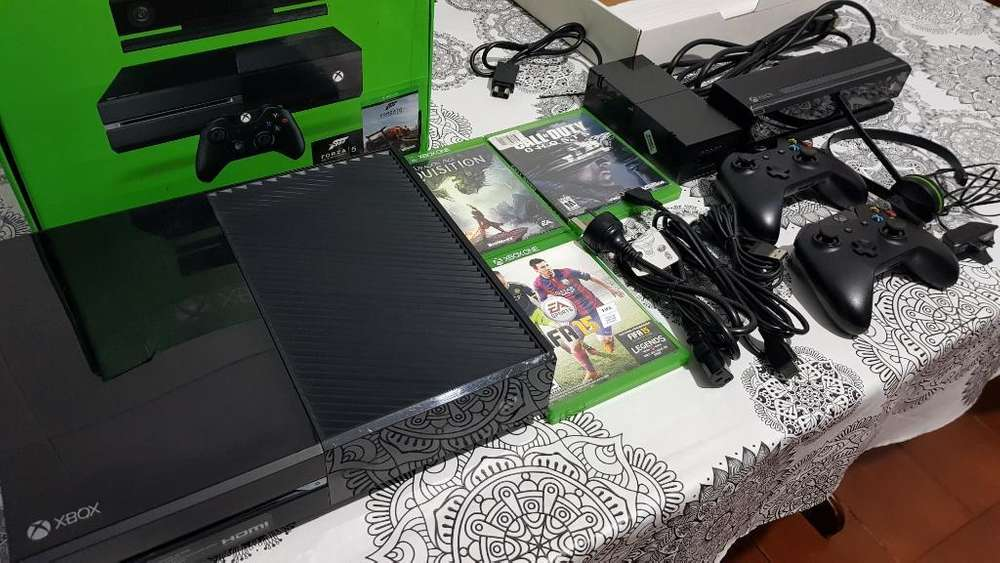 Xbox One 500gb Impecable Completa Local