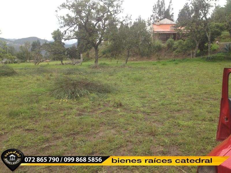 Terreno de venta en Apangoras, Challuabamba – código:15606