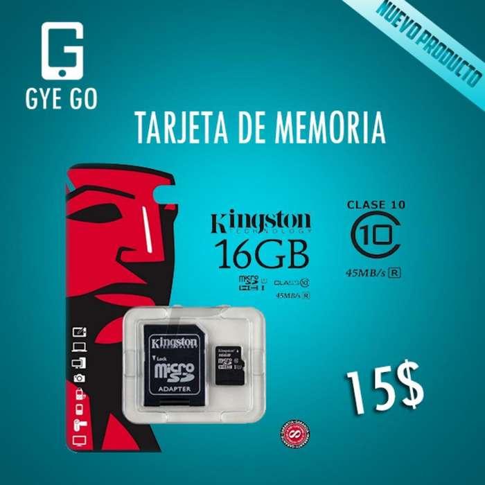 Vendo Tarjeta de Memoria 16gb