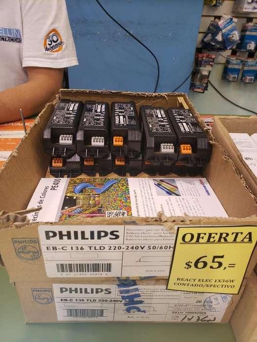 Reactancia Electrónica 36w Philips