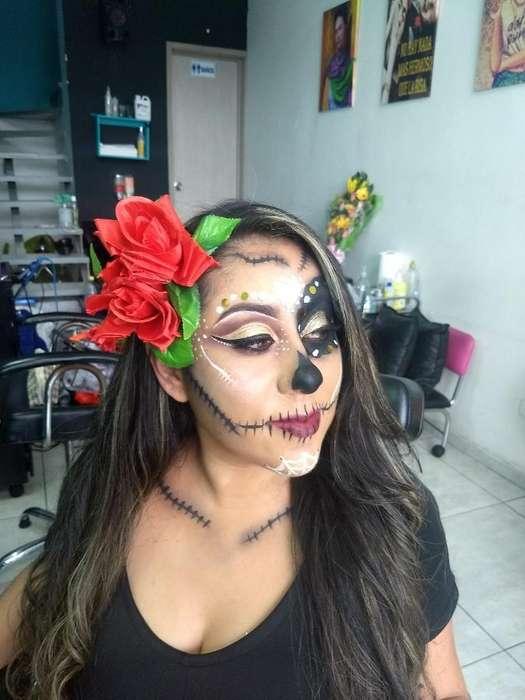 Maquillaje Artístico Halloween