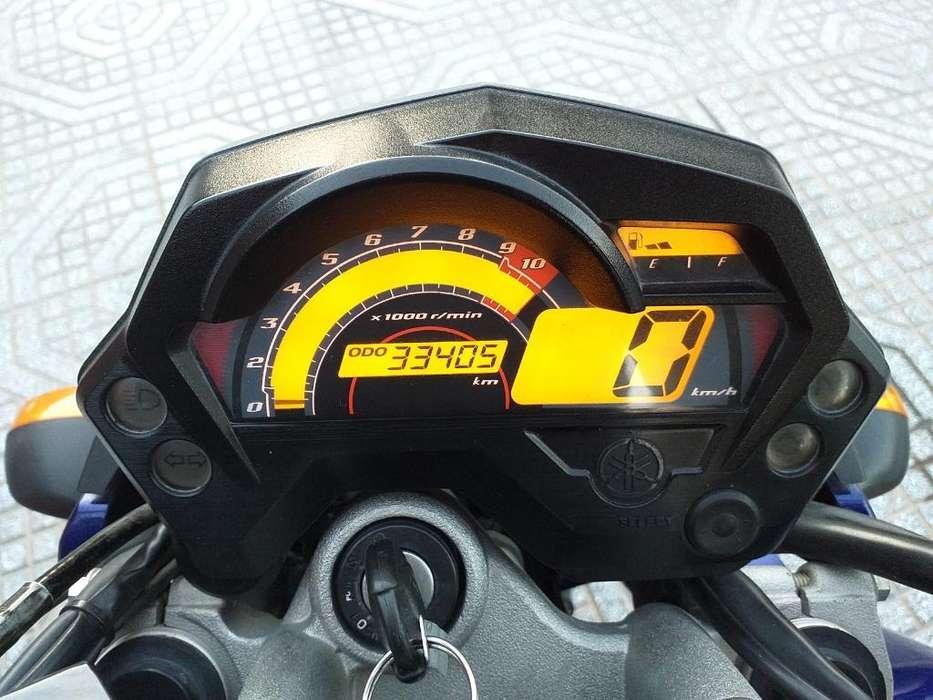 Vendo Yamaha Fz 2014.