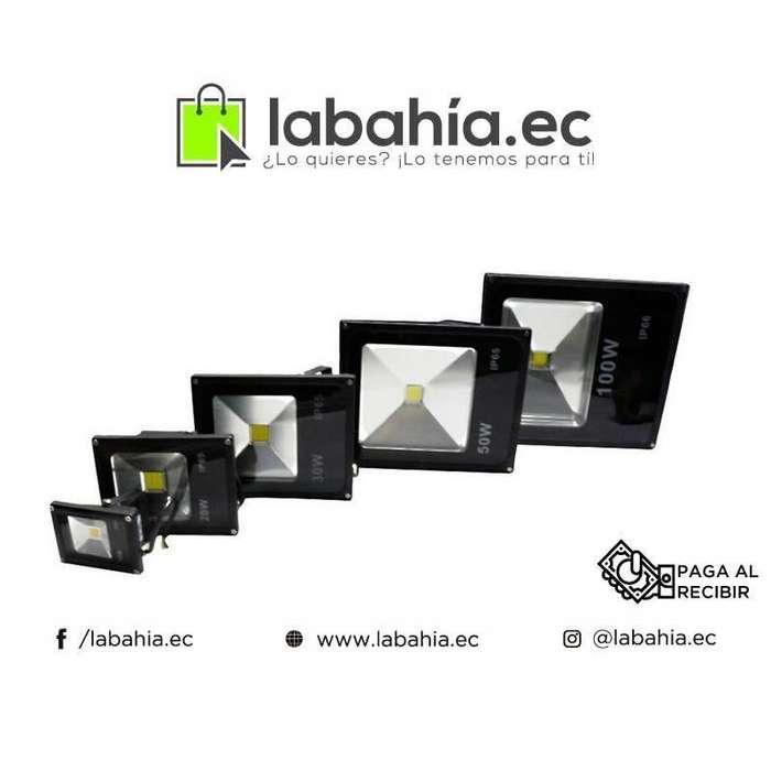 Reflectores LED ecologicos de bajo consumo para casa, Patio o Hacienda (Alto rendimiento)