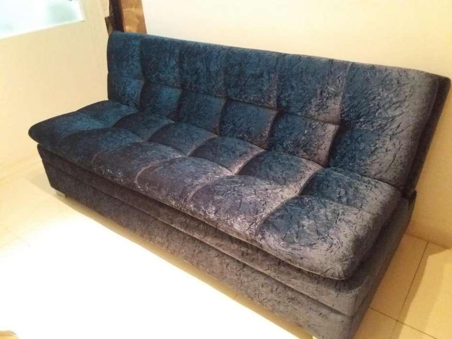 Sofa Cama con Baúl