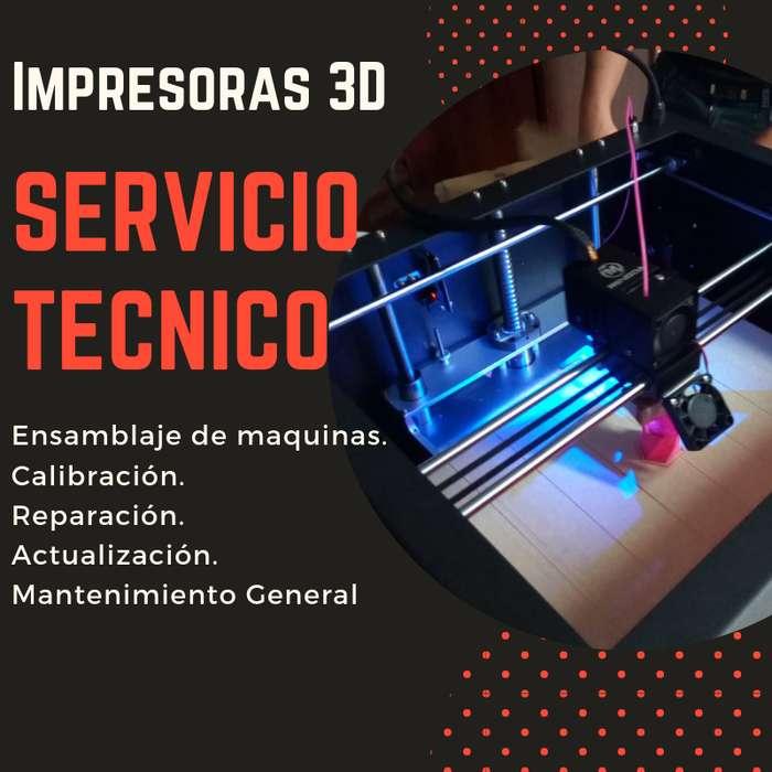 Mantenimiento Capacitación Mejoras Impresora 3d