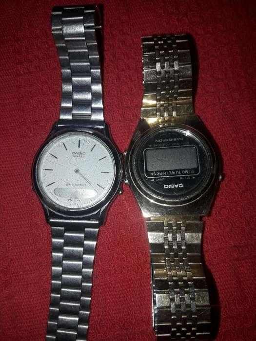 Relojes Casio Del 80