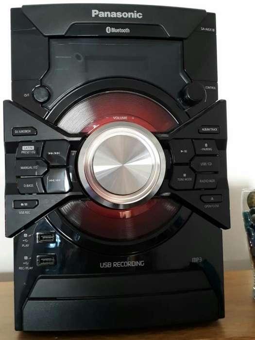 Minicomponente Panasonic Sc Akx8
