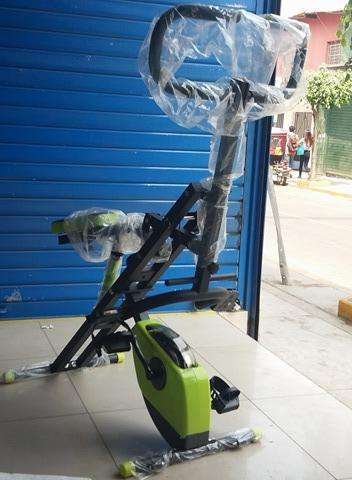 PESAS : Total Crunch 2 EN 1 ORIGINAL piston12niv Bicicleta Magnetica 8niv
