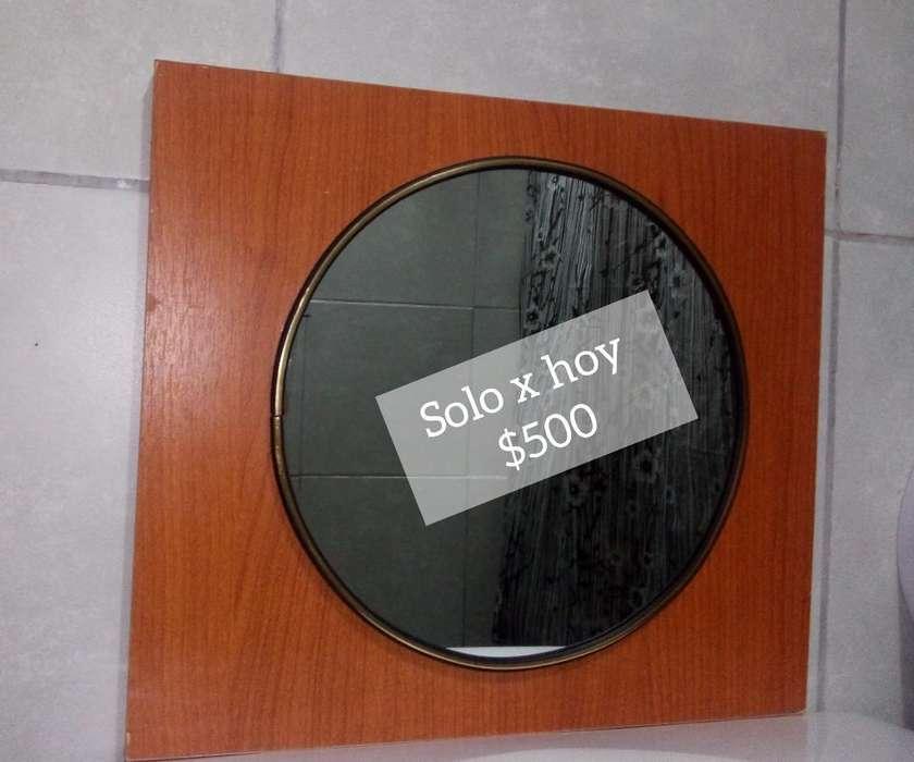 Espejo para Baño. 30 de Diámetro