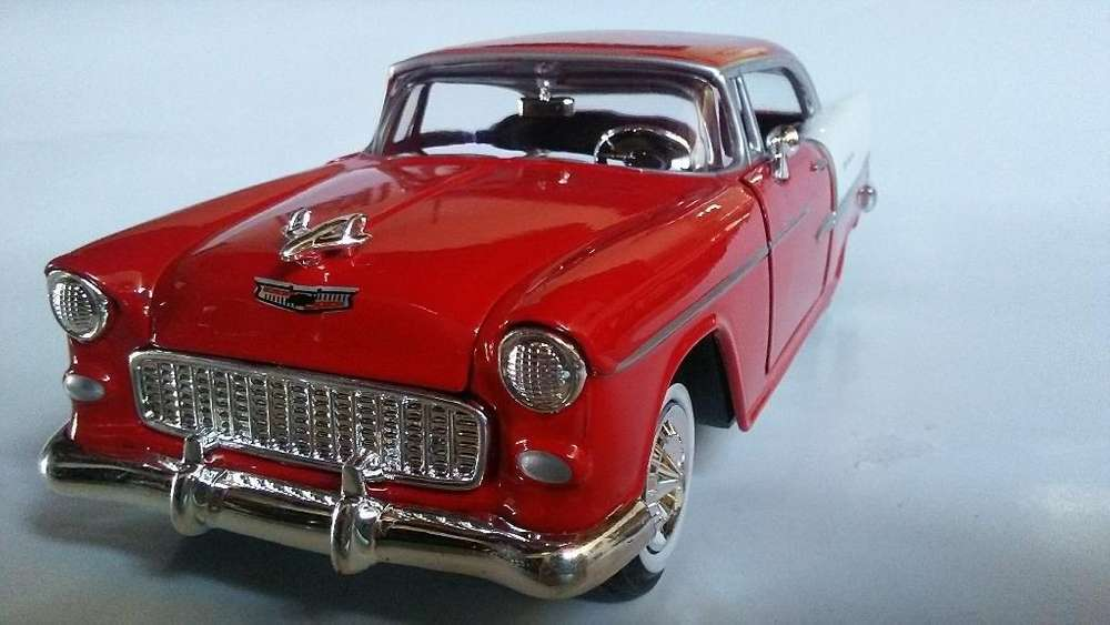 Chevy Bler Air 1955 Carro Coleccion 1/24