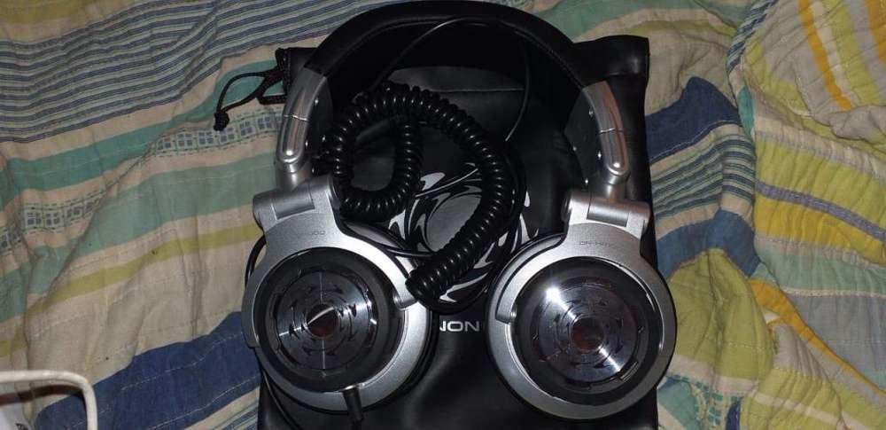 Vendo auriculares gamer dj DENON