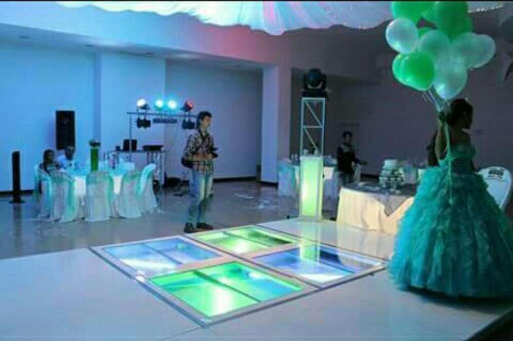 Alquiler de Luces Sonido Pista de Baile