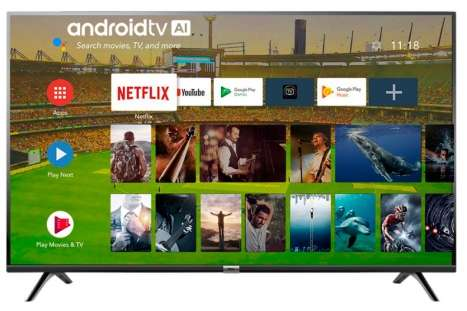 TV TCL L43S6500FS ANDROID FULL HD HDR BT MANDO VOZ 43
