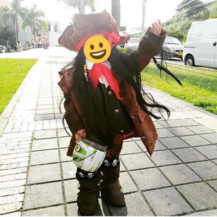 Disfraz de pirata nio talla 34