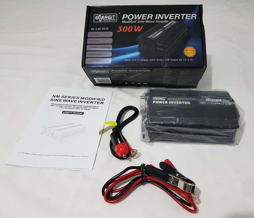 Inversor 12vdc/220vac 300w Energit